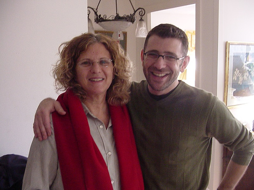 Me and Mike in 2004