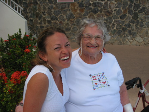 veronica and grandma