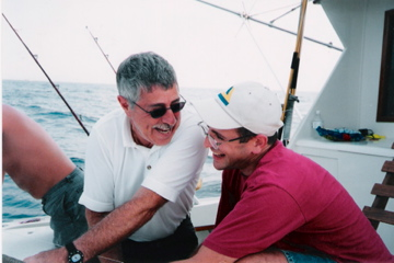alan and adam honig fishing