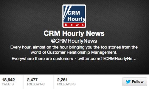 CRM hourly news