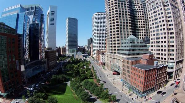 Adam's drone over Boston