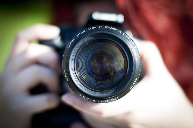 Camera Lens by Anna Henryson