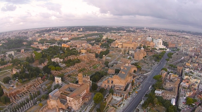 The Circus Maximus and the Vittoriano