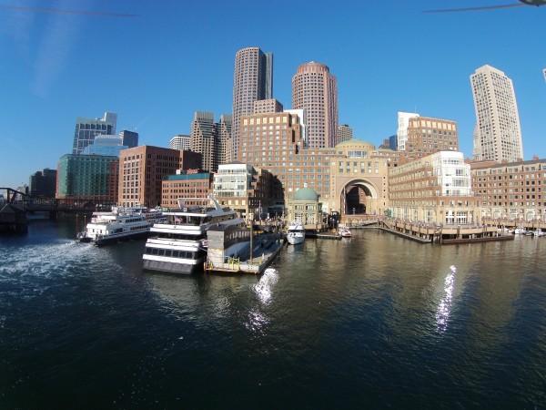 Boston Harbor Hotel from Boston Harbor