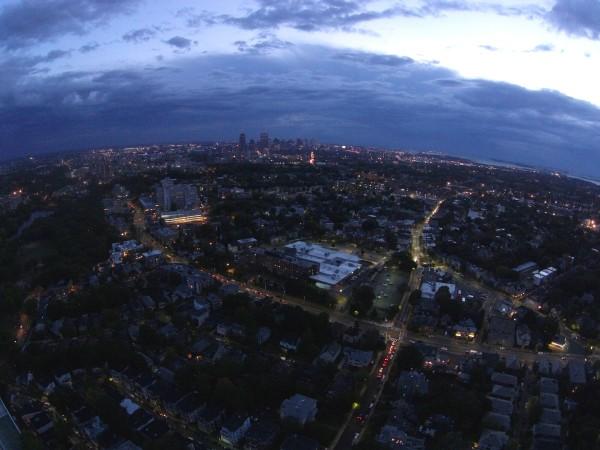 Boston pre-dawn