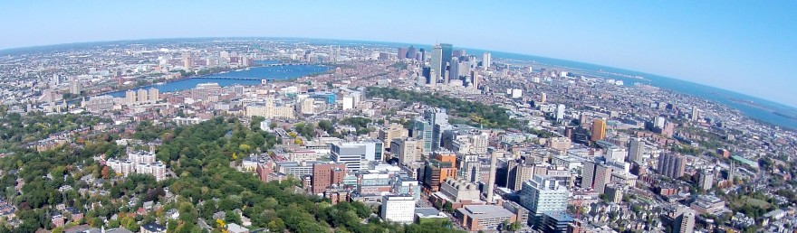 Slightly different angle but still seeing Boston University, the Charles River, Longwood Medical area and downtown Boston.