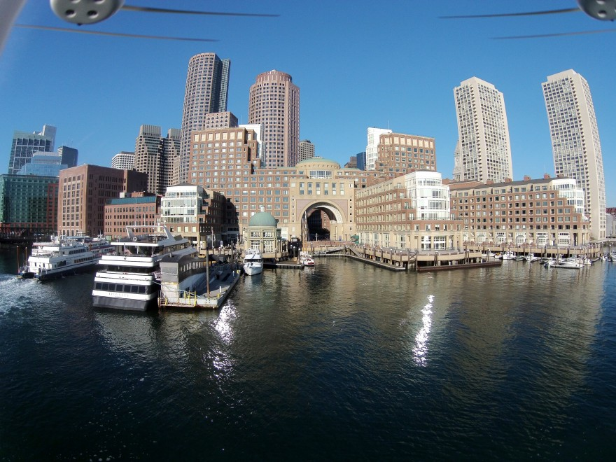 Rowes Wharf and Boston Harbor Hotel