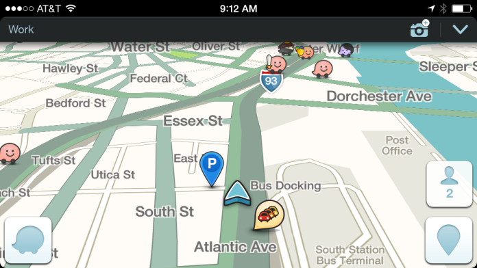 Waze is really good.